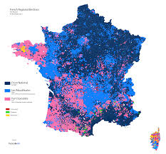 Map Of Election Results by French Regional Elections Results Of The First Round In