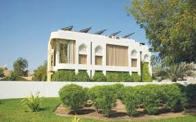 eco house omani eco house inaugurated at sultan qaboos university oman