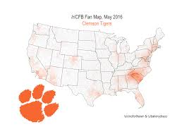 Orange County Florida Map by Which College Football Team Owns Central Florida