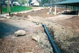 drainage pipe installation rockland county u0027s premier landscape