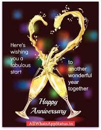 51 Happy Marriage Anniversary Whatsapp 15 Best Wedding Anniversary Whatsapp Status For Husband Images On