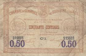 chambre de commerce boulogne sur mer chambre de commerce and local emergency banknotes from