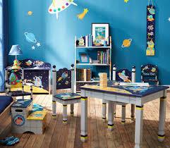 blue high gloss boys kids bedroom set bed wardrobe bedside cabinet