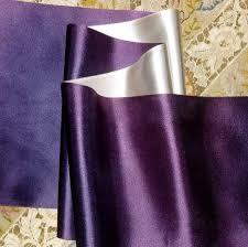 sided satin ribbon vintage royal purple violet silver satin ribbon sided