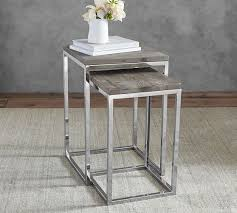 pottery barn nesting tables pottery barn nesting tables home design and idea