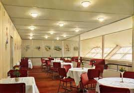 hanging heat ls for restaurants the hindenburg s interior passenger decks airships net
