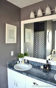 outstanding bathroom mirror ideas with storage flower shape mirror stunning bathroom mirror frames replacement silver rail white lamps white frame mirror blue marble table cabinet