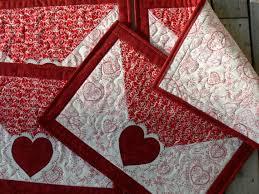 valentine s day table runner 130 best quilting valentine heart images on pinterest quilt