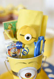 minion party favors minion party ideas for a birthday squared