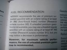premium fuel recommended what do you use road reality