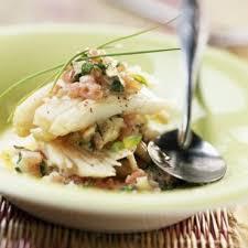 cuisine raie aile de raie sauce aux herbes fraîches cuisine plurielles fr