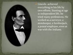 biography of abraham lincoln in english pdf abraham lincoln ppt download