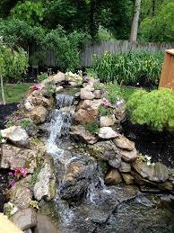 backyard pond waterfalls outdoor goods