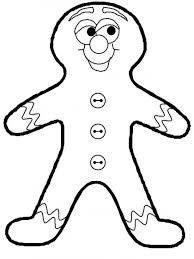 gingerbreadman coloring page gingerbread man coloring pages picture 5 navidad pinterest