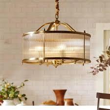 Hanging Pendant Lights Bedroom Modern Gold Brass Restaurant Cafe Light Copper Pendant Ls