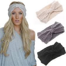 winter headbands winter women warm headbands knitting hairbands stretch knotted