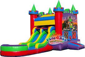 minecraft kings water slide combo rentals fun4allinflatables com