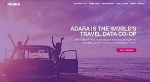 adara the world u0027s travel data co op