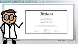 bachelor u0027s degree in medical assisting program information
