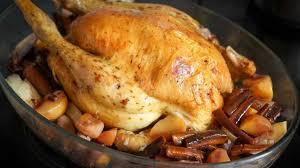 cuisine chapon dinde rôtie ou chapon rôti au four recette de la dinde rôtie ou