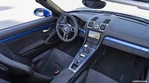 Porsche Boxster Interior - 2016 porsche boxster spyder color sapphire blue metallic
