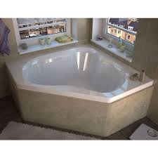 bathroom fascinating simple design 128 corner whirlpool soaking trendy whirlpool corner bath with shower screen 146 universal tubs beryl ft contemporary bathtub