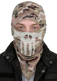 ghost glow mask emersongear ghost skull balaclava mask multicam