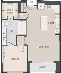 houston high rise apartments floor plans at the southmore