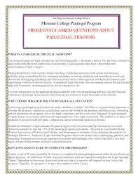 Sample Resume For Paralegal by Immigration Paralegal Resume Free Resume Example And Writing