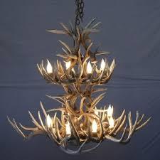 Antlers Lighting Chandelier Whitetail Antler Chandeliers Antler Lighting Made In Usa