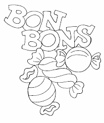 coloriage bonbons challenge dessin pinterest