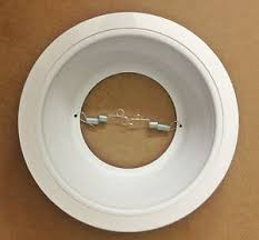 baffle trim recessed lighting 24 pack 6 inch white baffle trim recessed can light replaces halo