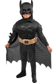 Kids Batman Halloween Costume Toddler Boys Batman Costume Classic Batman Party Stuff