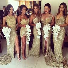 sequin bridesmaid dresses 2017 gold sequin bridesmaid dresses mermaid 5 styles for choice