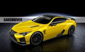 scoop 600 hp lexus lc f coming to auto this fall