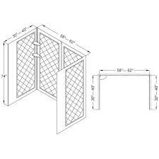 Shower Base Kits Dreamline Infinity Z 32 In D X 60 In W Kit With Sliding Shower