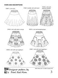 pattern art pdf 133 best clothing by pearl red moon art to wear images on