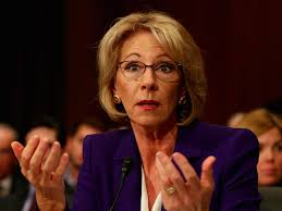 She She What Betsy Devos Will Control As Secretary Of Education Business