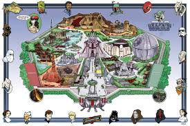 Disney World Parks Map Disney World Map Star Wars Image Gallery Hcpr