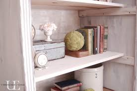 Annie Sloan Painted Bookcase 7 Ways To Age And Distress Furniture Unexpected Elegance