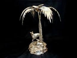 watt u0027s antiques dogs under palm trees centerpiece