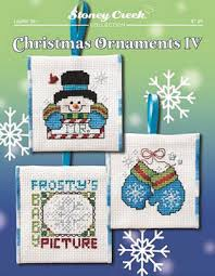 stoney creek ornaments iv cross stitch pattern