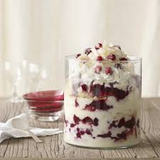 thanksgiving trifle recipes cranberry coconut trifle recipe eatingwell