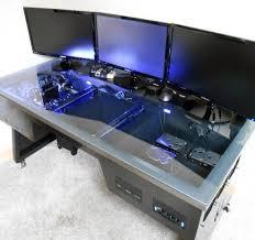 Custom Gaming Desk Ultimate Gaming Desk Best 25 Custom Gaming Desk Ideas On Pinterest