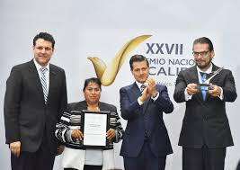 The National by President Enrique Peña Nieto Honors Kiekert Mexico With The
