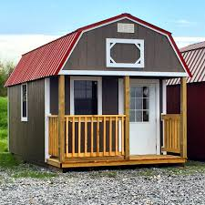 lofted barn cabin lofted barn cabins come with fir wood siding or lp smartside painted panels the fir