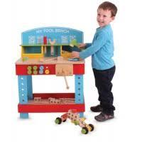 Childrens Work Benches Toy Tools U0026 Workshop Woodentoyshop Co Uk