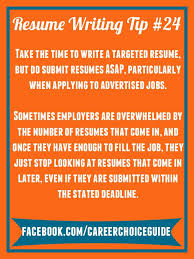 Resume Writing Advice 31 Best Quick Job Search Tips From Career Choice Guide Images On