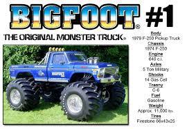 bigfoot 1 bigfoot 4 4 u2013 monster truck racing team
