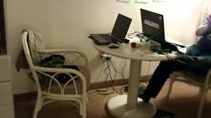 Computer Desks Las Vegas by Hd The Quad Las Vegas Hotel Room Tour Youtube